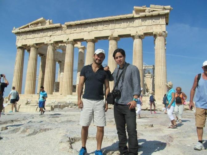 El Partenón en la Acrópolis, Atenas
