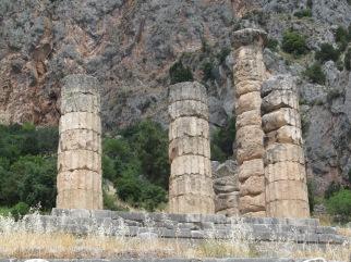 Ruinas del oráculo de Delfos, Grecia