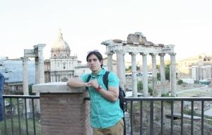 Foros Imperiales Roma, templo de Marte