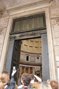 Entrada al Panteón de Agripa