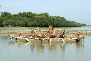 Fuente de Apolo en los Jardines de Versalles