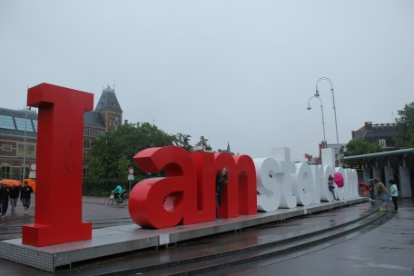 Museumplein en Amsterdam
